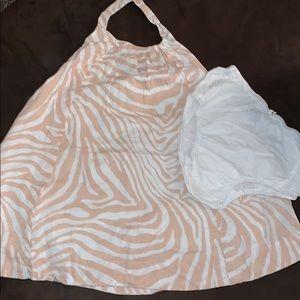 2T gap halter dress